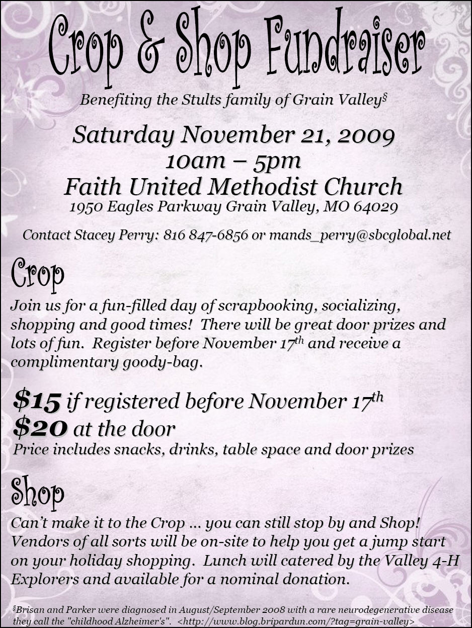 Crop-n-shop flyer