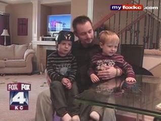 Fox 4 News KC November 21, 2008 - Stults Family