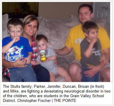 Grain Valley Pointe Newspaper - Stults Family