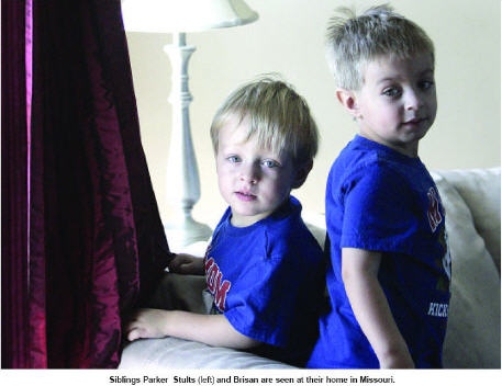 Rare genetic disorder is a double challenge for family - Parker and Brisan Stults