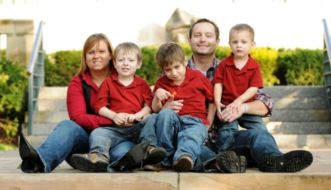 Stults Family - Front