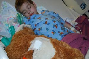 Brisan after surgery 4-7-10