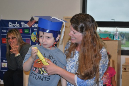 Parker graduating may 2011