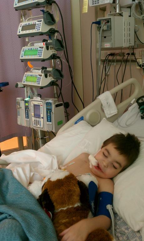 Brisan At CMH 8-24-2011 in ICU