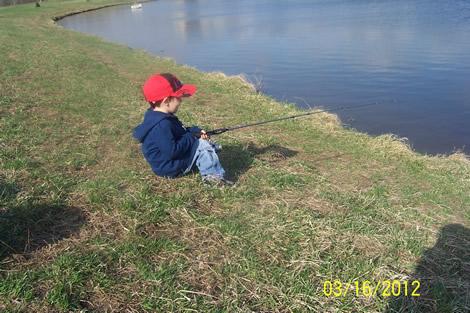 Duncan Fishing Waiting