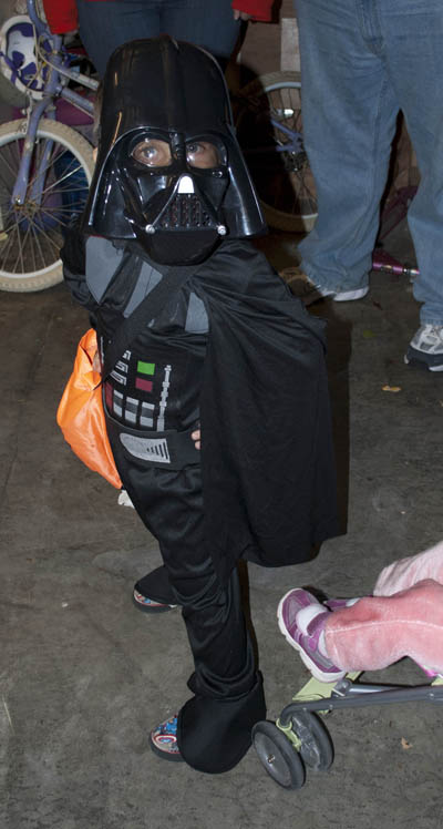 Duncan as Darth Vadar