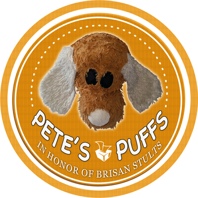 Pete's Puffs logo