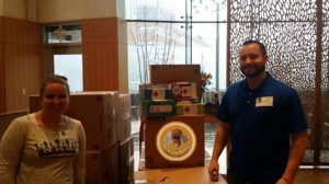 Tissue Delivery to Children's Mercy Hospital Pete's Puff for Brisan