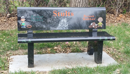 Brisan & Parker Memorial Bench